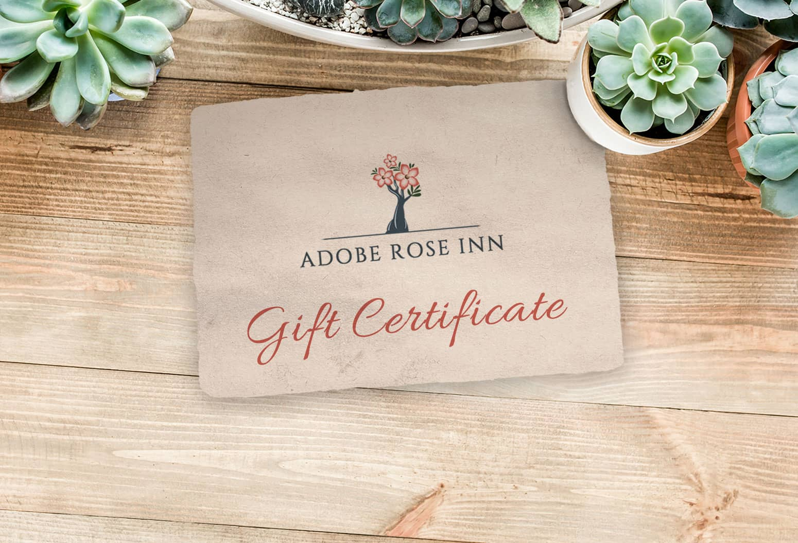 Adobe Rose Inn Gift Certificate